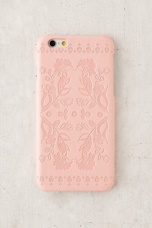 Vegan Leather Folklore Iphone 6 6s Case Clothed With