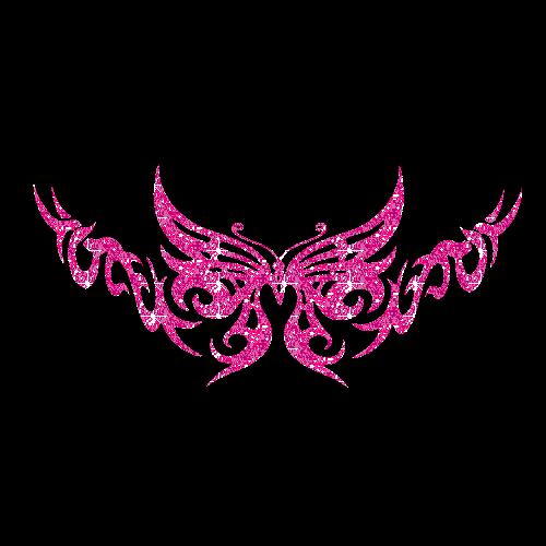 Pink Y2k Style Butterfly Tattoo Print Y2k Butterfly Pin In 2020 Cute Tattoos Butterfly Tattoo Tattoos