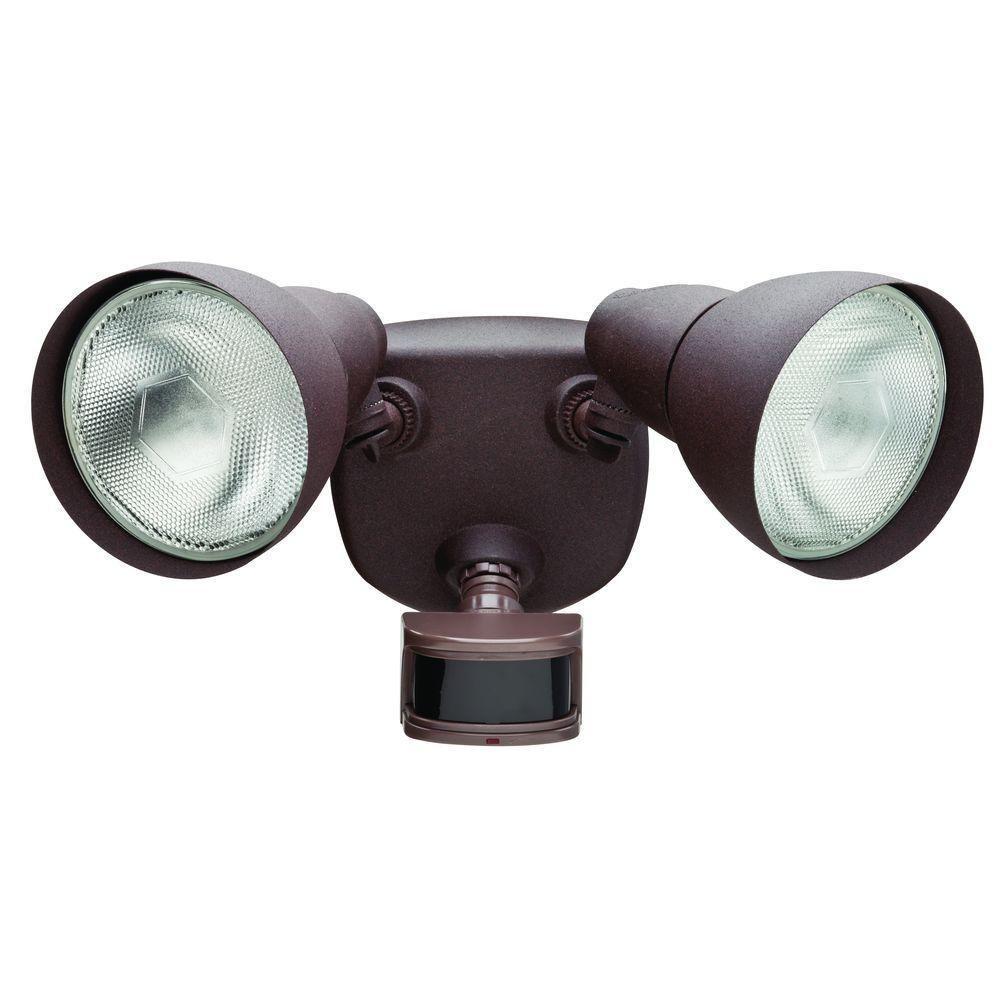 Defiant 270° Rust Motion Outdoor Security Light   FEB