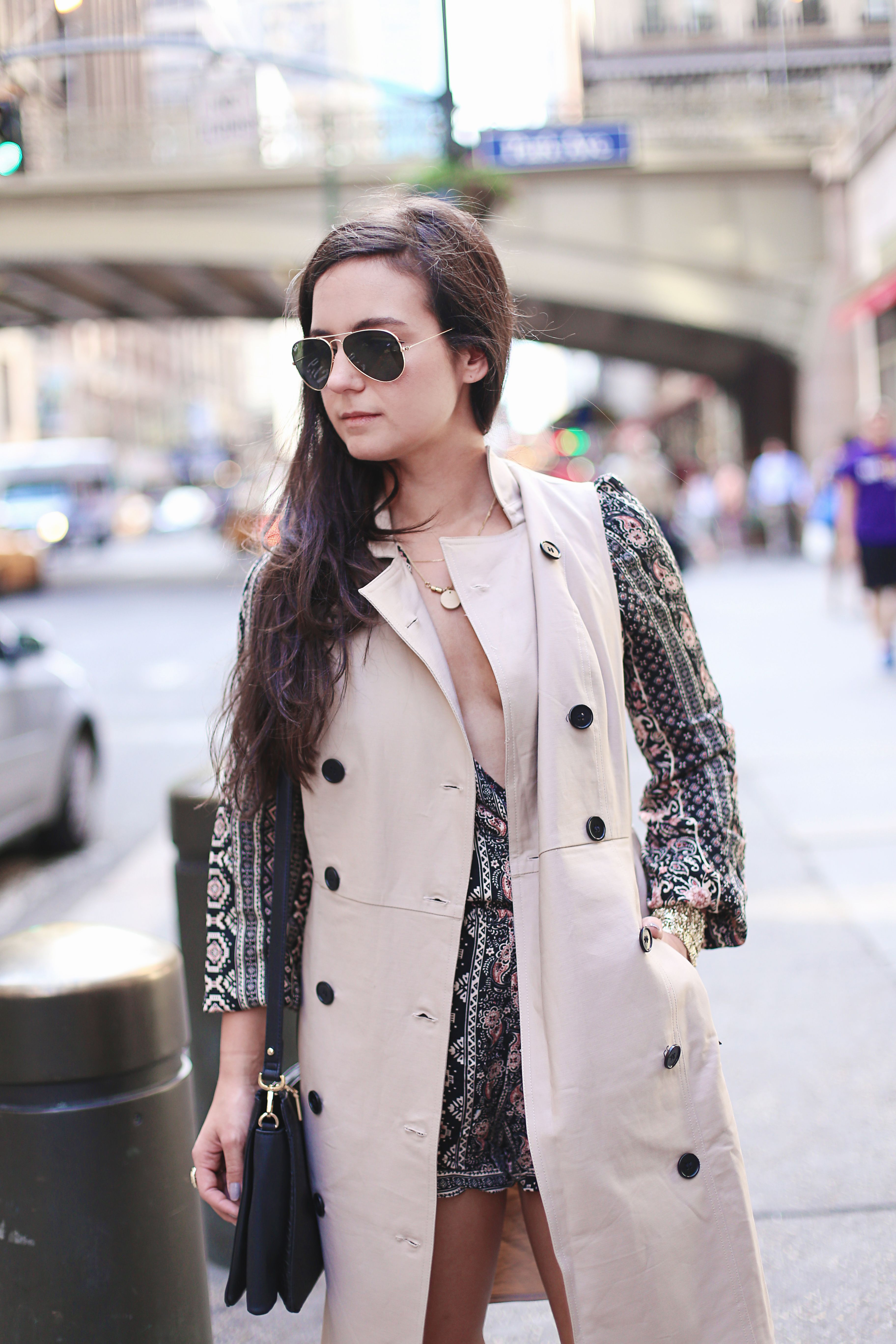 Ann Taylor Trench Vest/Dress. Great piece for the Fall.