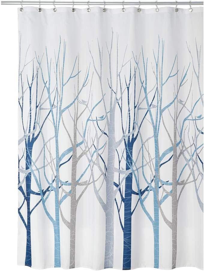Birch Tree Shower Curtain Tree Shower Curtains Tree Curtains