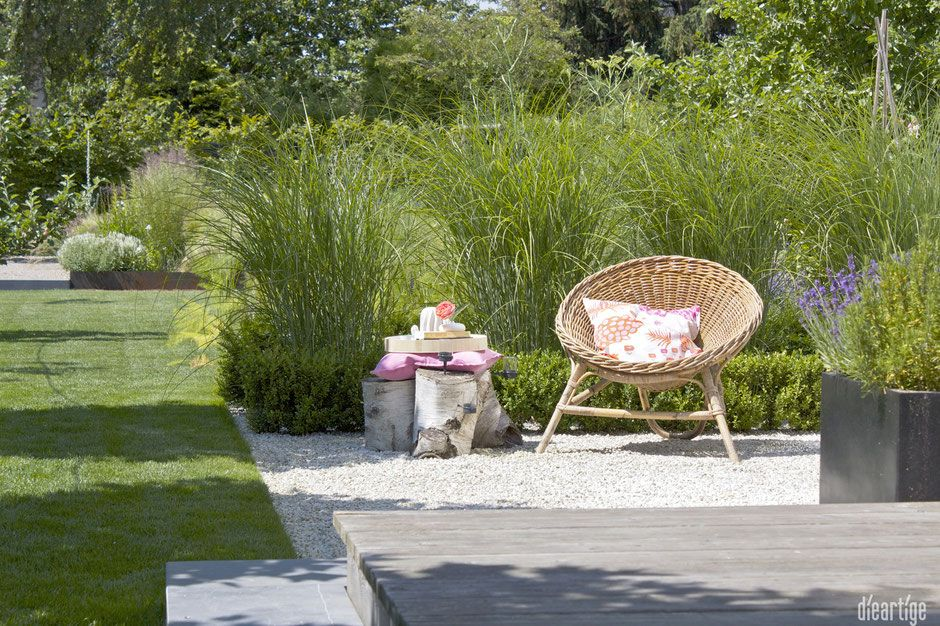 Dieartigeblog Wohnen Im Garten Rattansessel Kissen In Pink