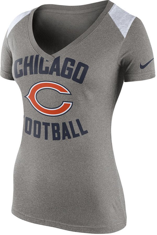 5cf1aafa3d5e Nike Women s Chicago Bears Stadium Football T-Shirt