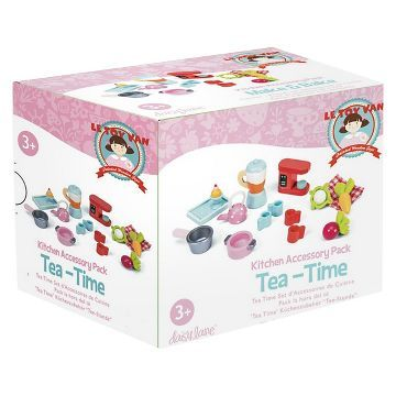 Le Toy Van Tea Time Kitchen Pack Toys Accessories Packing
