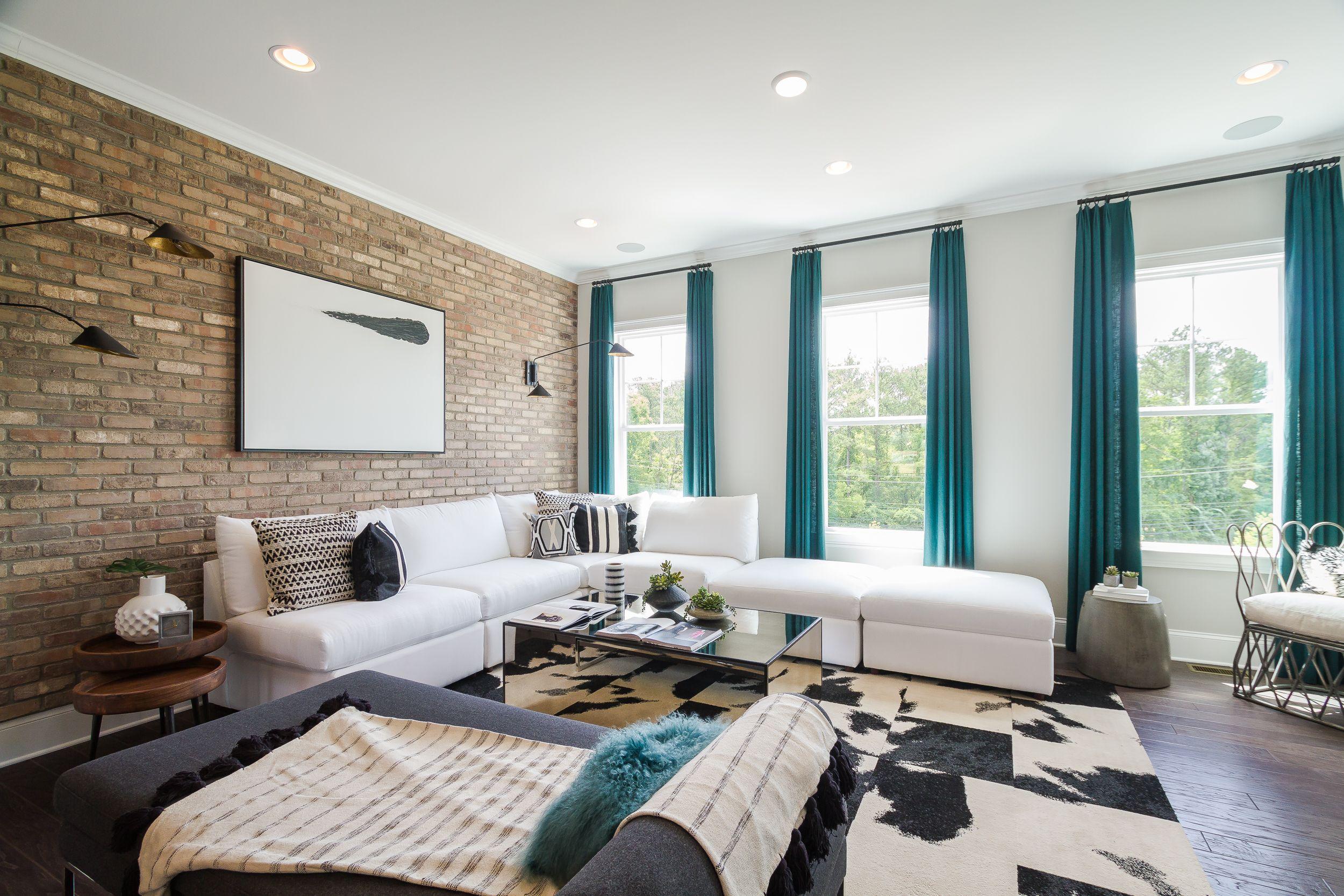 Living Room   Richmond Designer Model at Harlow   by Edwards Andrews ...