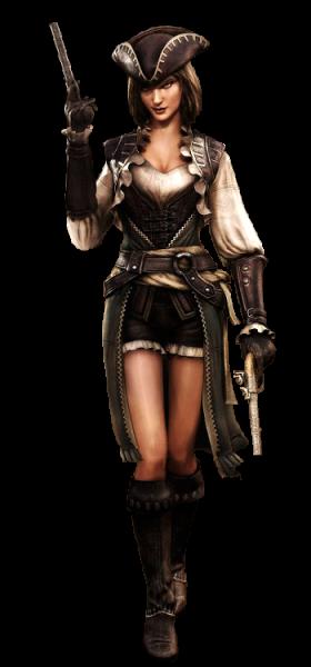 Assassin S Creed Black Flag Lady Black Render Assassin S Creed Iv Black Flag Assassins Creed Black Flag Assassin S Creed Black Pirate Woman