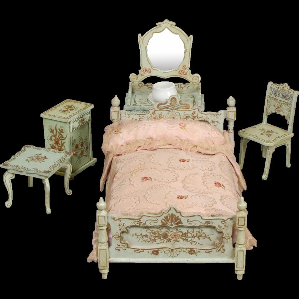 Paul Leonhardt Dollhouse Bedroom Furniture