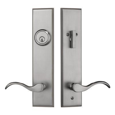 Rockwell Security Complete Verano Entry Lever Set With Single Cylinder Deadbolt Door Handles Entry Door Locks Door Handle Sets