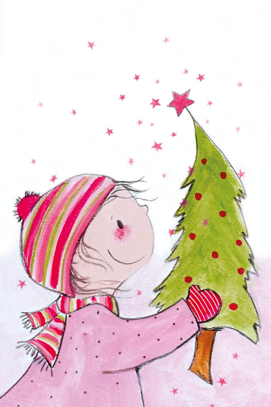Pin van gerda tulp op boekillustraties - Niedliche weihnachtskarten ...