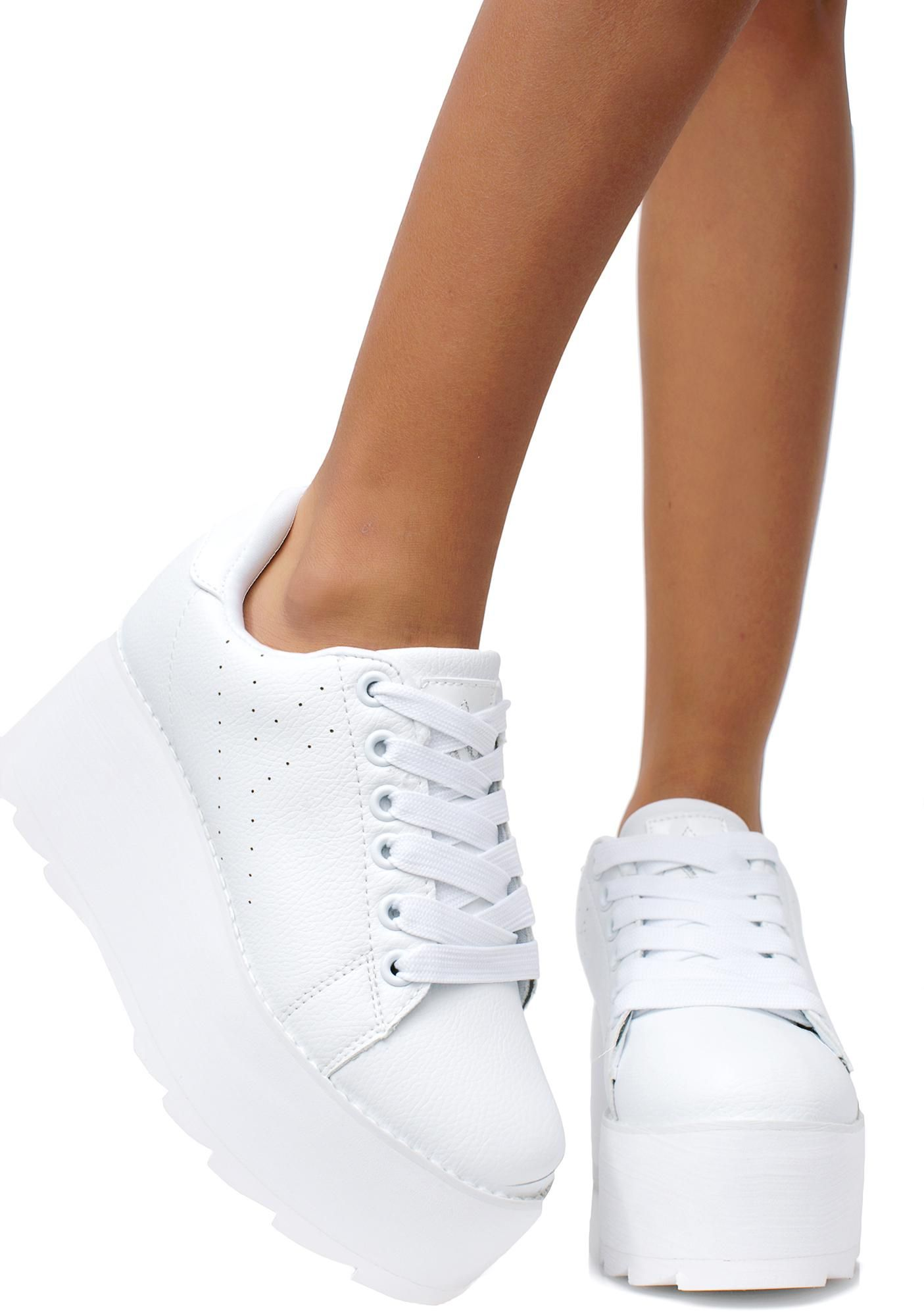 Angelic Lala Platform Sneakers in 2020