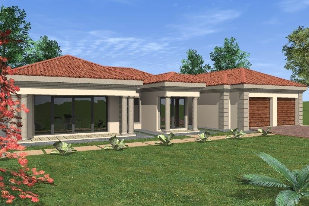 House Plan No W1707 | House plans south africa, African ...