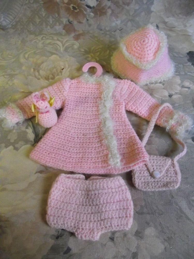 Crochet Doll Dress Pattern Little Darling Wardrobe Annie Potter