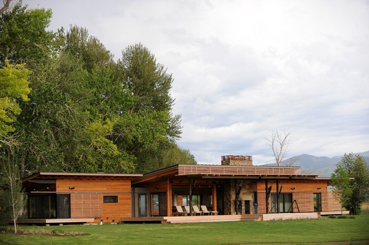 Contemporary prefab home Montana Modern Prefab Modular Homes
