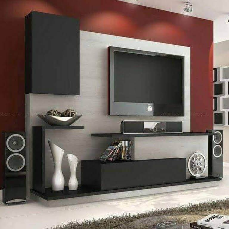 Top 50 Modern Tv Stand Design Ideas For 2020 Engineering Discoveries Living Room Tv Unit Modern Tv Wall Units Living Room Tv Unit Designs