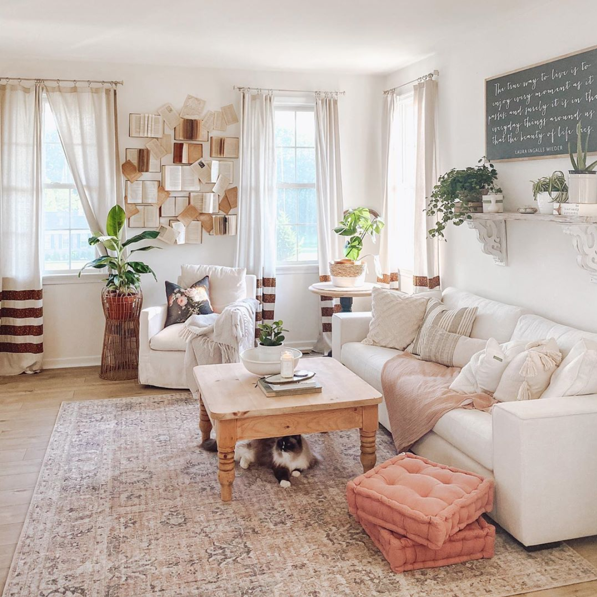 37++ White farmhouse couch most popular