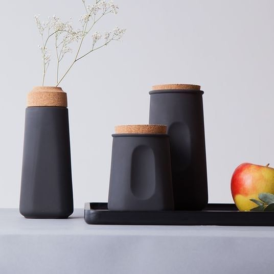 SmallCups By monoq The elegance of black is something that