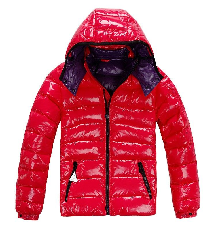 Cheap Moncler Jacket Moncler Bady Men Down Jackets Red | Shiny ...