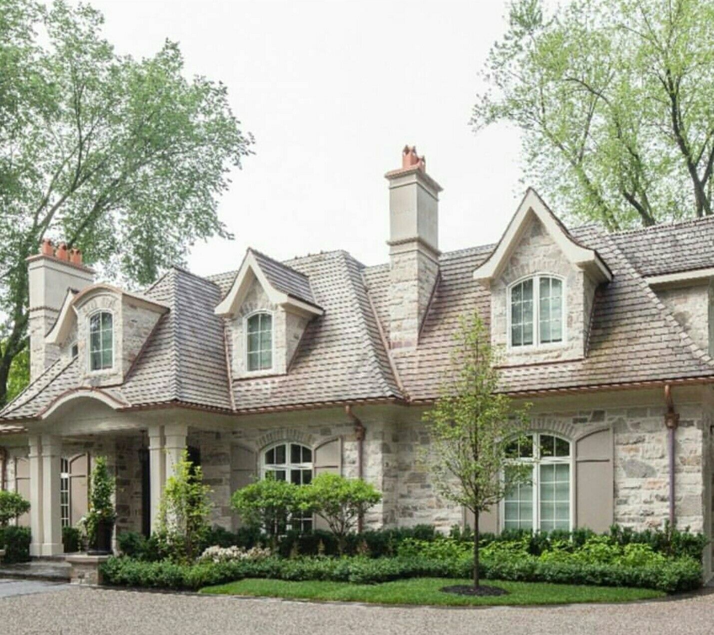 French Country Style Home Exterior: Who Else Is A Fan Of Stone Exteriors?
