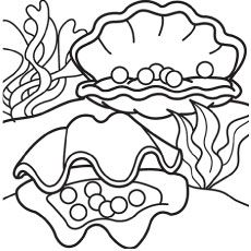 Top 25 Free Printable Shell Coloring Pages Online Coloring Pages Coloring Pictures Fish Coloring Page