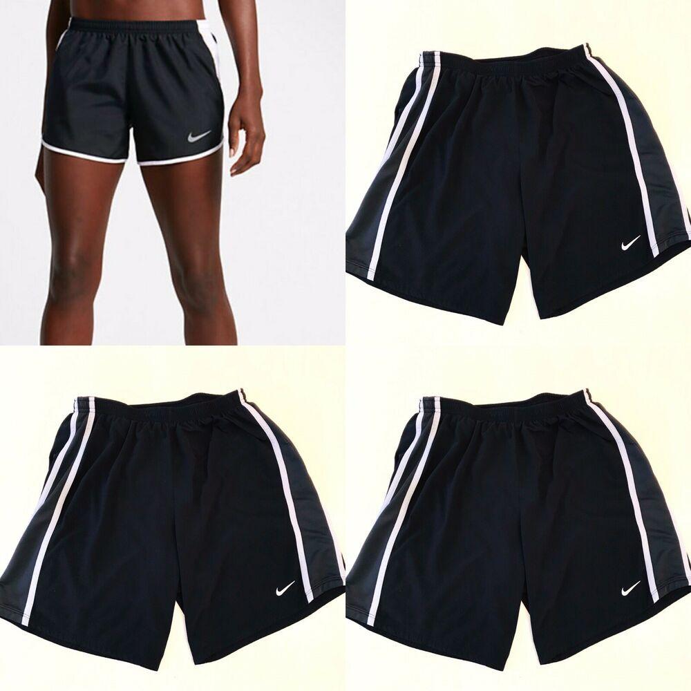 Nike M Women's Running Shorts Black Athletic Sports
