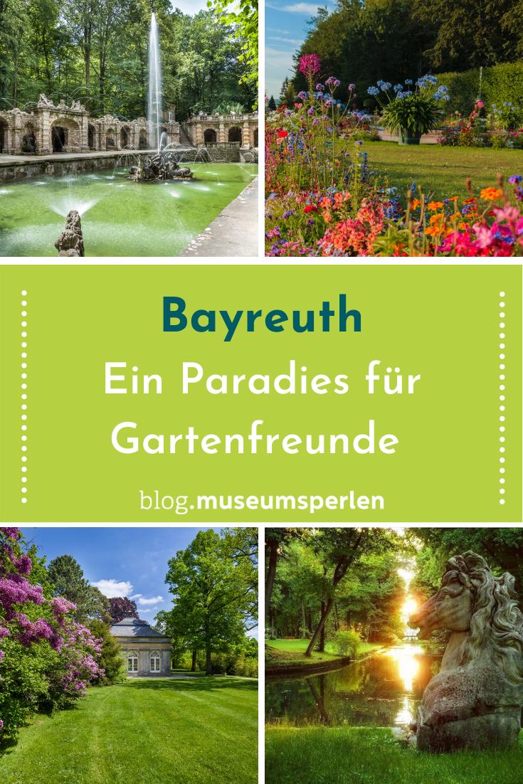 Bayreuth Parks Und Garten Parks Urlaub Bayern Bayern