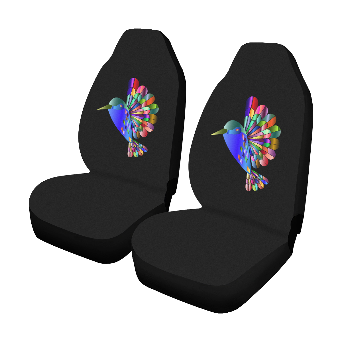 2 Pieces Set T Shirt Design Front Car Seat Cover Universal Fit Car Care Seat Protector for Car Seats Polyester Fabric Car Seat Cover Color Name : Blue LBBL Seat Cover Sets Car Seat Cover