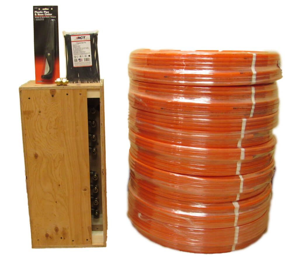 Quick Kits for Concrete Slab Radiant Heat Installation in
