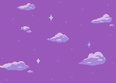 Clouds Purple And Pixel Image Tumblr Backgrounds Pixel Art Background Pixel Art