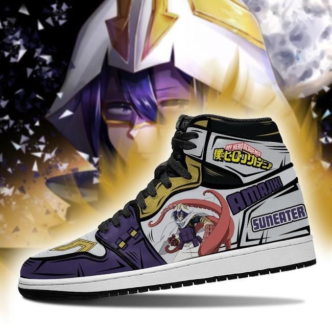 Tamaki Suneater Jordan Sneakers Custom My Hero Aca