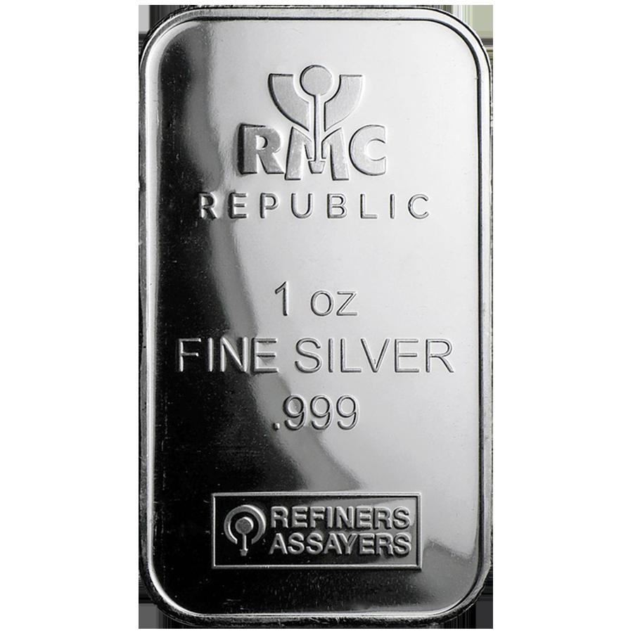 Rmc 1oz Silver Bar Silver Bars Silver Silver Value