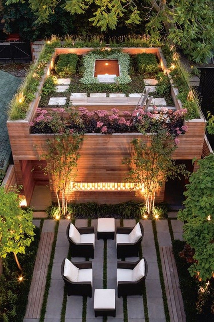 Rooftop Garden Ideas | The Great Outdoors | Pinterest | Rooftop ...