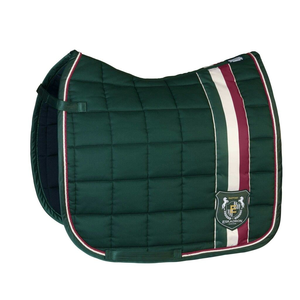 Eskadron Aw16 Cotton Big Square In Racing Green Not Normally My