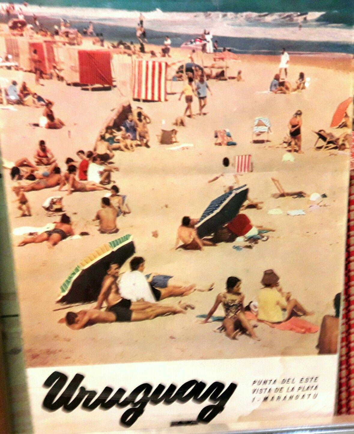 Folleto De Punta Del Este Decada De Los 60 Vintage Travel Posters Travel Posters Vintage Travel