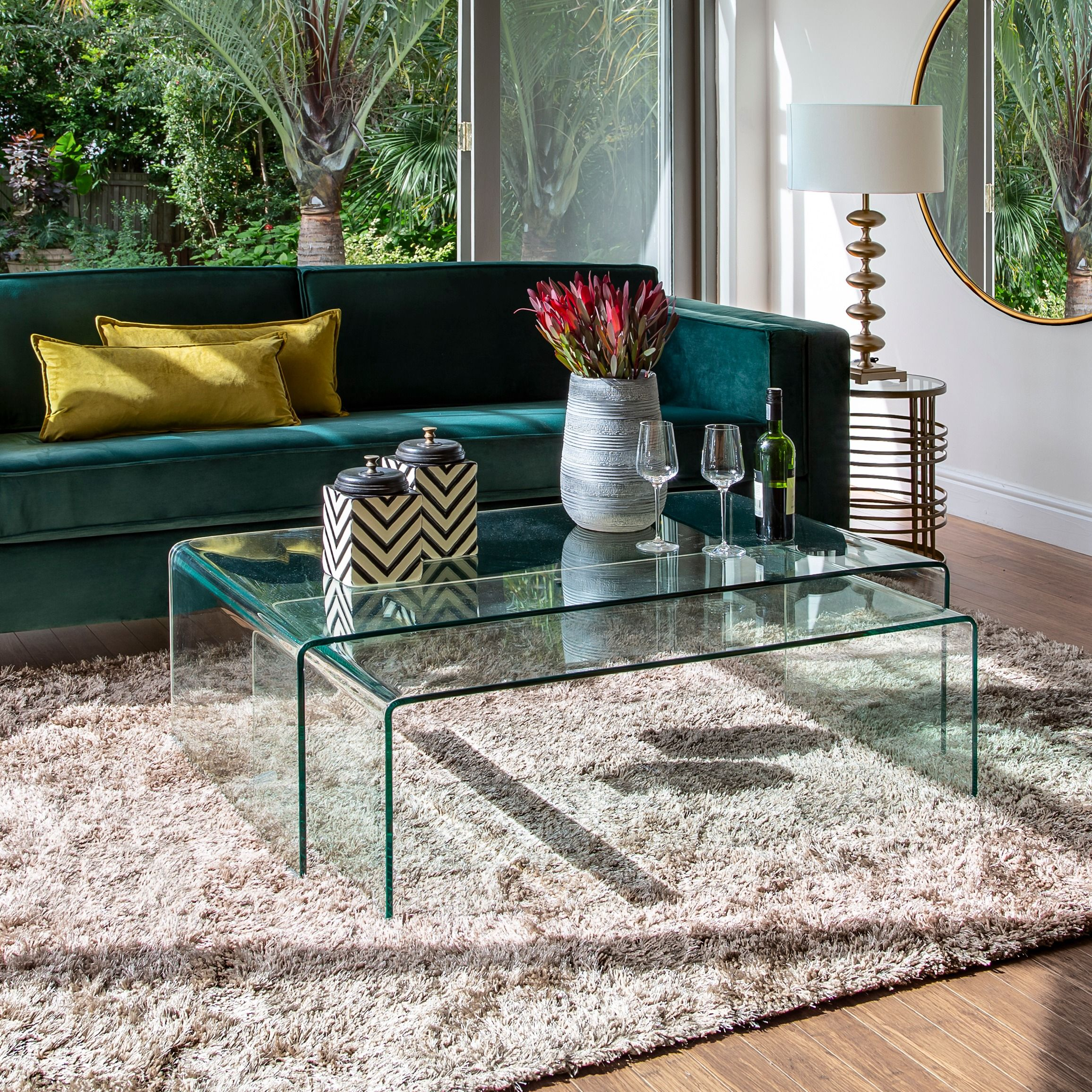 Lamercy Glass Coffee Table Coffee Table Table Glass Coffee Table [ 2311 x 2311 Pixel ]