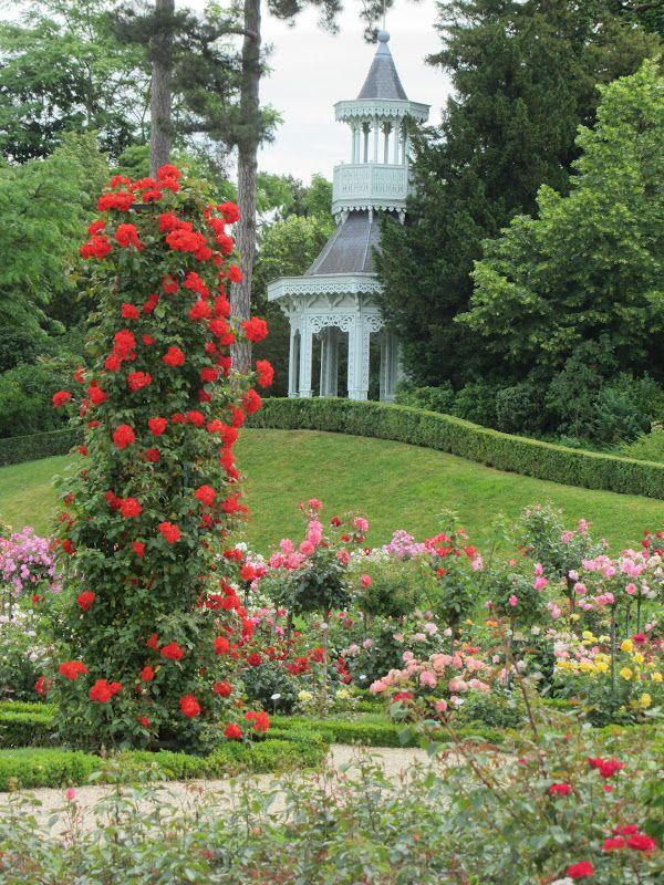 Parc De Bagatelle Paris Most Beautiful Rose Garden Avec Images