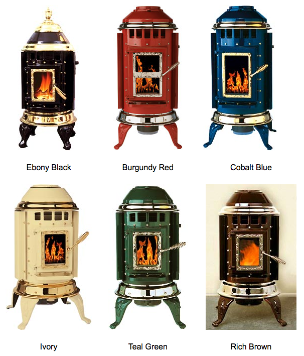 Thelin Stoves Parlour 3000 Pellet Heater Color Options Heats 2000 Sq Feet 20 Diameter Silver Or Gold Met Pellet Stove Fireplace Heat Wood Pellet Stoves