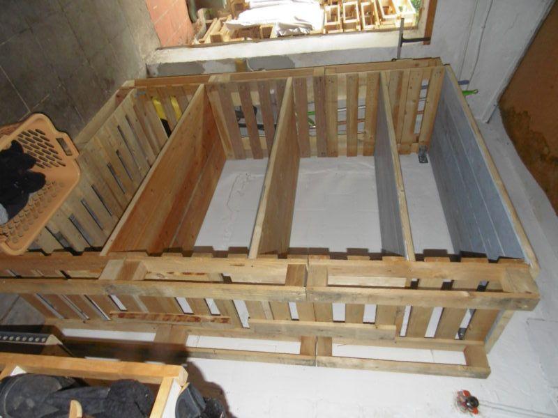 Big Pallet Organization Rack For Scrap Wood | Latest ...