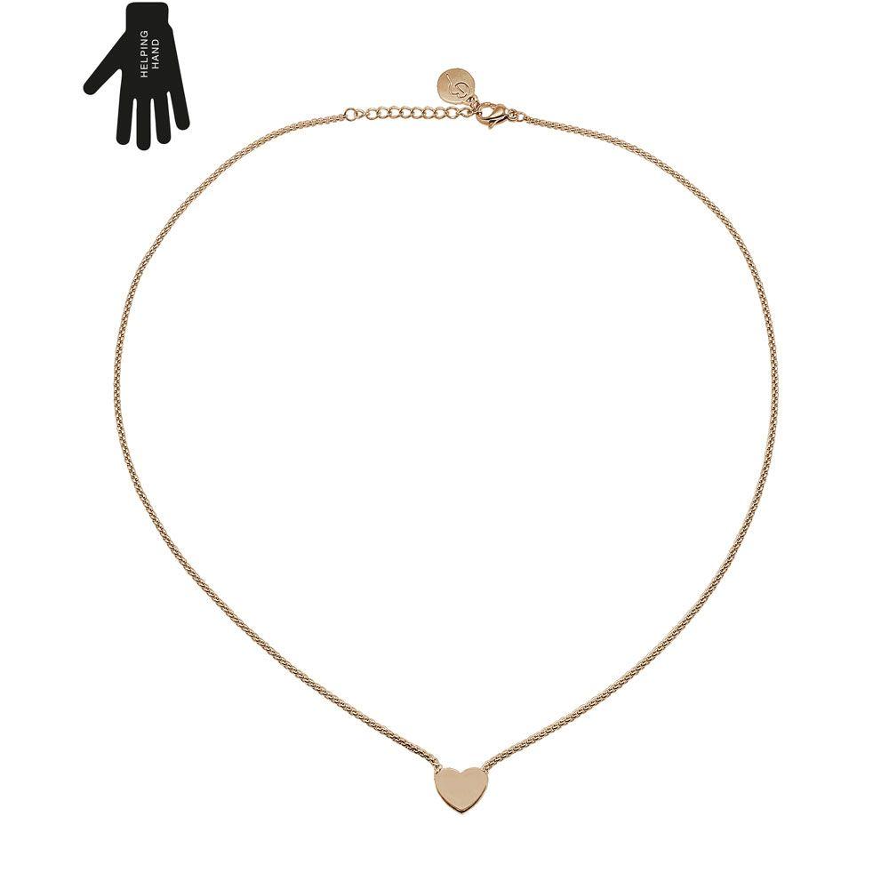 Edblad Together Necklace Rose Gold Gold necklaces Rose and Pendants