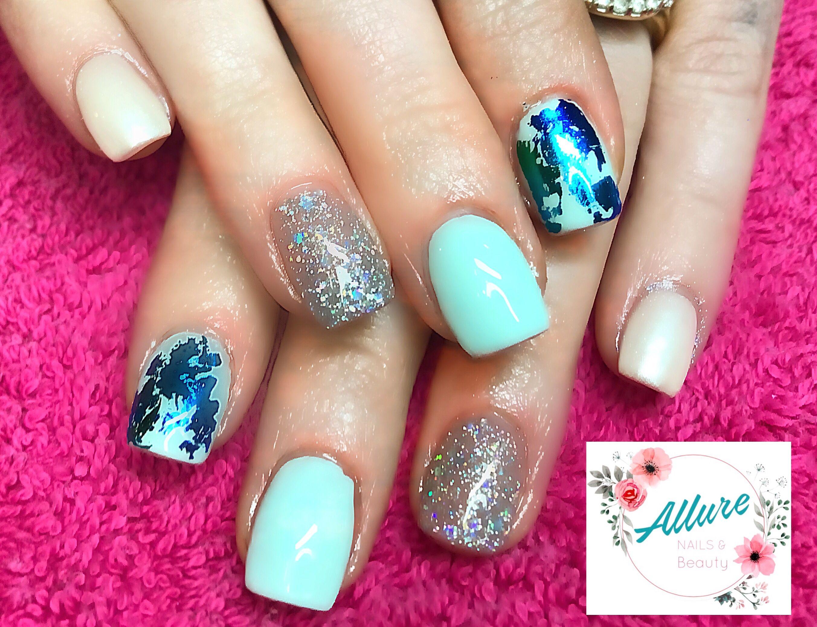 Gel polish over acrylic #classy   Nails, Acrylic nails