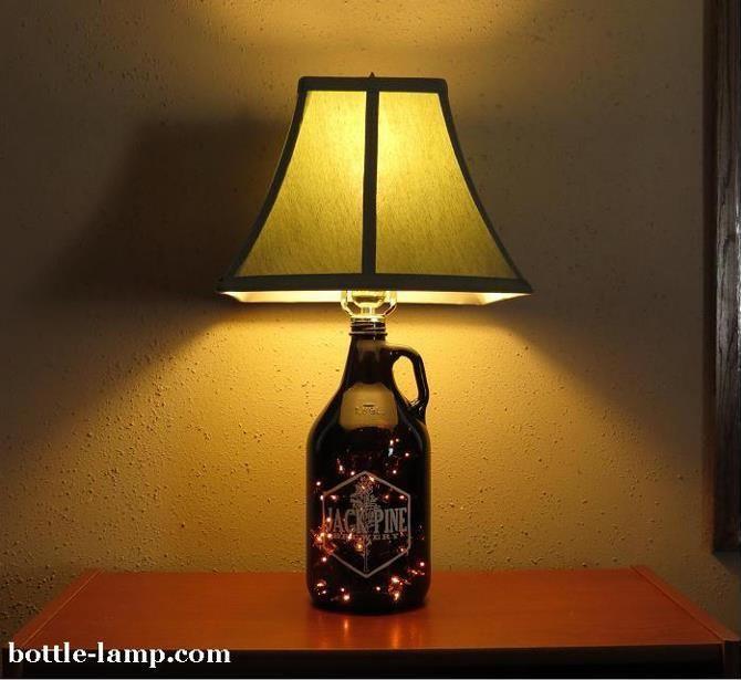 Diy Bottle Lamp Ideas 11 Diy Bottle Lamp Ideas How To Make A Bottle Lamp Diy Lamp Shade Diy Bottle Lamp Diy Lamp