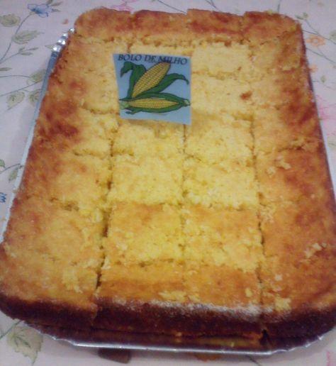 receita de bolo de milho de liquidificador
