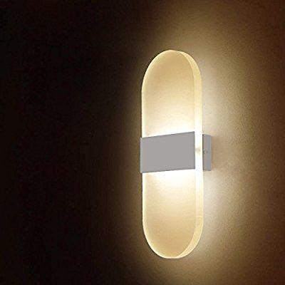 6W LED-Wandleuchten Innen aus Kreative minimalistische für