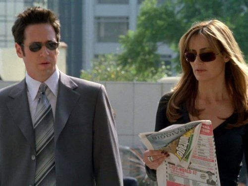 Still Of Rob Morrow And Diane Farr In Numb3rs 2005 Numbers Tv