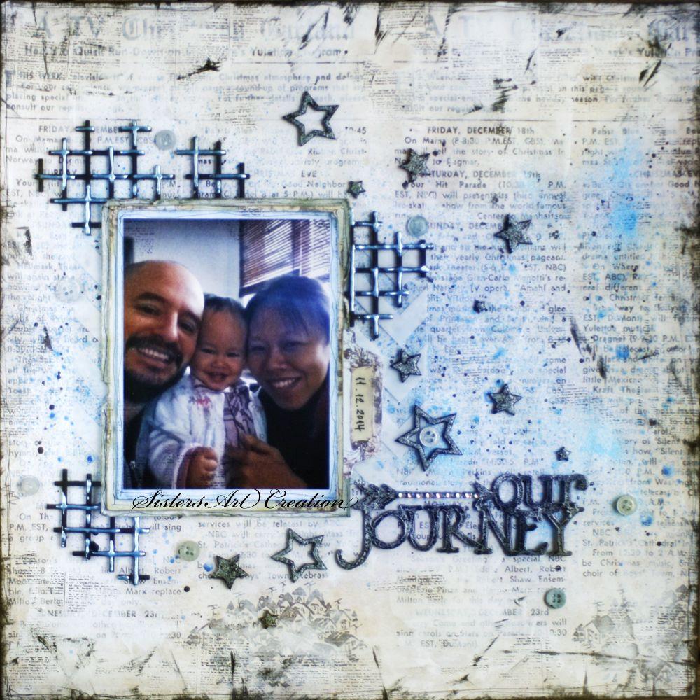 Journey scrapbook ideas - Our Journey Csi Special Case Cc 4 Scrapbook Com