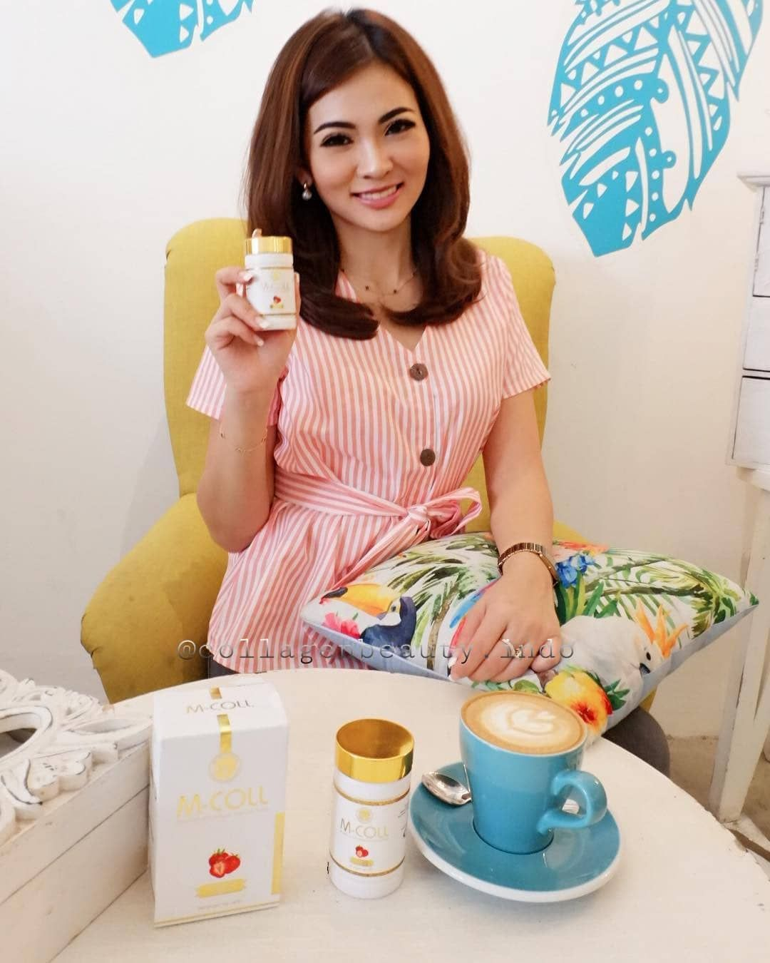 Mcoll Collagen Candy from Japan isi 60 butir HATIHATI