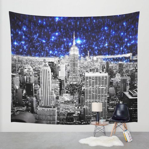 Wall Tapestry New York City Tapestry Galaxy Tapestry Celestial Tapestry Indoor Outdoor New York Tapestry T Tapestry Wall Tapestry Celestial Tapestry