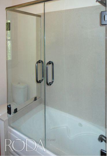 French Doors On A Tub Love It Roda By Basco Celesta 38 Clear