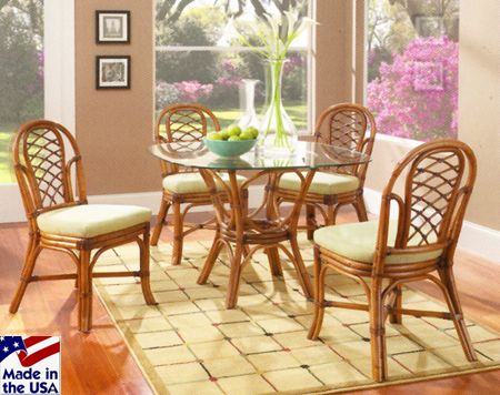Grand Isle Rattan And Wicker Dining Sets By Classic
