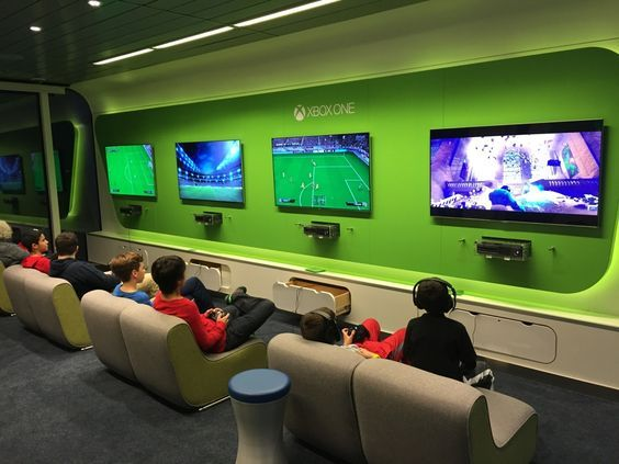 Image Result For Video Game Lounge Video Game Rooms Small Game Rooms Video Game Room