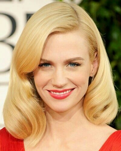 5f6f9d7332d2 Level 9 hair color January Jones Hair, Light Blonde Hair, Yellow Blonde  Hair,